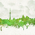 Clouds Over Toronto Canada Poster by Aged Pixel