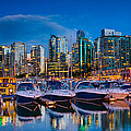 Coal Harbour Print by Ian Stotesbury