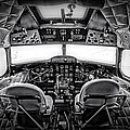 cockpit of a DC3 Dakota Print by Paul Fell