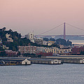 Coit Tower Sits Prominently On Top Of Telegraph Hill In San Francisco Print by Scott Lenhart