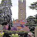 Collegiate Church of St Mary Warwick Print by Terri  Waters