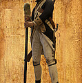 Colonial Soldier Print by Thomas Woolworth