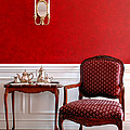 Colonial Style Print by Olivier Le Queinec