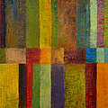 Color Panel Abstract ll Print by Michelle Calkins