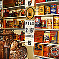 Colorado General Store Supplies Poster by Janice Rae Pariza