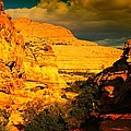 COLORFUL CAPITAL REEF Poster by Jeff  Swan