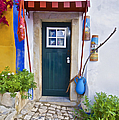 Colorful Door of Obidos Poster by David Letts