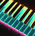Colorful Keys Poster by Bob Orsillo