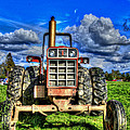 Coming out of a heavy action tractor Print by Eti Reid