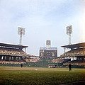Comiskey Park Photo From The Outfield Print by Retro Images Archive