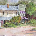 Commerce Street Apalach Print by Susan Richardson