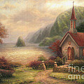 Compassion Chapel Poster by Chuck Pinson