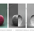 Compositionally Apples Poster by Natalie Kinnear