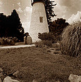 CONCORD POINT LIGHTHOUSE Poster by Skip Willits