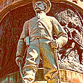 Confederate Soldier Statue I Alabama State Capitol Poster by Lesa Fine