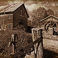 Cook's Old Mill 1857 Poster by Regina  Williams