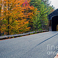 Corbin Covered Bridge Vermont Poster by Edward Fielding