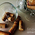 Corks 2 Print by Cheryl Young
