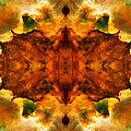 Cosmic Kaleidoscope 2  Print by The  Vault - Jennifer Rondinelli Reilly
