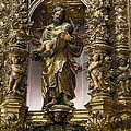 Costa, Pablo 1672-1728. Main Altarpiece Poster by Everett