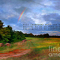 Country Rainbow Print by Darren Fisher
