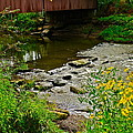 Covered Bridge Poster by Frozen in Time Fine Art Photography