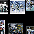 Cowboys Triple Threat  Autographed Reprint Poster by James Nance