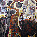 Cows Poster by Dale Beckman