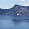 Crater Lake Panorama Poster by Christiane Schulze Art And Photography