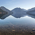 Crescent Lake reflection Print by Pierre Leclerc Photography
