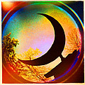 Crescent Moon over Eureka Springs Poster by Garry McMichael