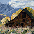 Crested Butte Country Print by Mary Giacomini