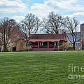 Cricket Field Haverford College Print by Kay Pickens
