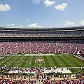 Crimson Tide A-Day Football Game at University of Alabama  Print by Carol M Highsmith