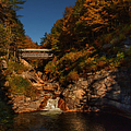 Crossing over Print by Jeff Folger