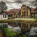 Crucis Abbey Print by Adrian Evans