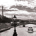 Cruise on the Seine Poster by Olivier Le Queinec