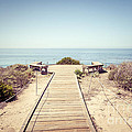 Crystal Cove Overlook Retro Picture Poster by Paul Velgos