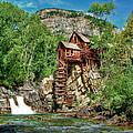 Crystal Mill Crystal Colorado Poster by Ken Smith