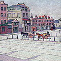 Cumberland Market North Side Print by Robert Polhill Bevan