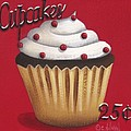 Cupcakes 25 cents Print by Catherine Holman