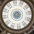 Custom House Tower Ceiling Boston Print by Norman Pogson