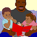 Daddy's Bundles Poster by Pharris Art