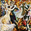 Dance Ball of Cats  Poster by Leonid Afremov