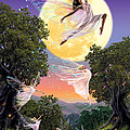 Dance of the Moon Fairy Poster by Garry Walton