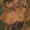 Dancer in the Wing Print by Edgar Degas