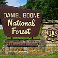 Daniel Boone Print by Frozen in Time Fine Art Photography