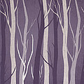 Dark Forest Print by Aged Pixel