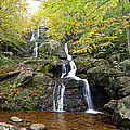 Dark Hollow Falls Print by Metro DC Photography