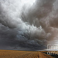 Dark Storm Clouds Print by Boon Mee